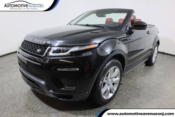 Photo 2017 Land Rover Range Rover Evoque, Santorini Black Metallic - $43,995 (Automotive Avenues)