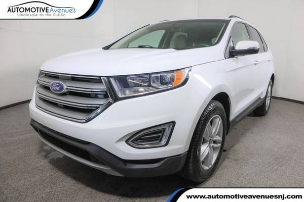 Photo 2018 Ford Edge, Oxford White - $22,995 (Automotive Avenues)