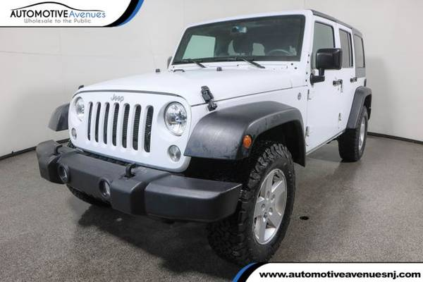 Photo 2018 Jeep Wrangler JK Unlimited, Bright White Clearcoat - $31,495 (Automotive Avenues)