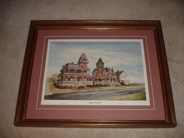 Photo Angel Of The Sea Cape May Ken Frye SN Framed Print - $60 (Atco)