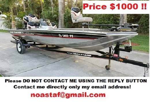 Photo Boat Bass Tracker 2001 (FORSALE)