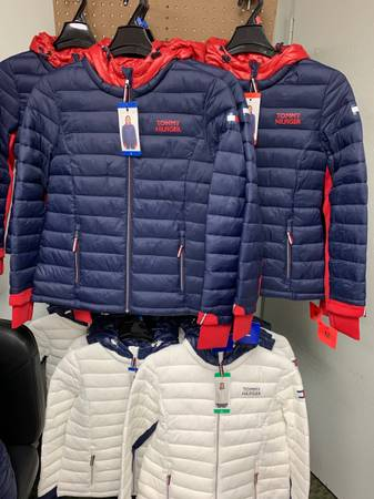 Photo Brand new Tommy Hilfiger coats $30.00 indoor sale 501 Kennedy blvd Somerdale - $30 (Somerdale)