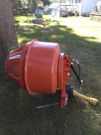 Photo Concrete Mixer PTO 3 Point Hitch - $1,100 (Absecon)