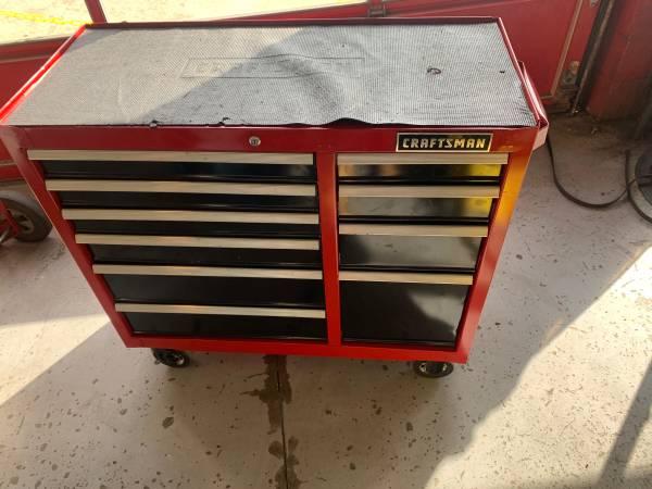 Photo Craftsman 10 drawer tool chest - $350 (Port Republic)