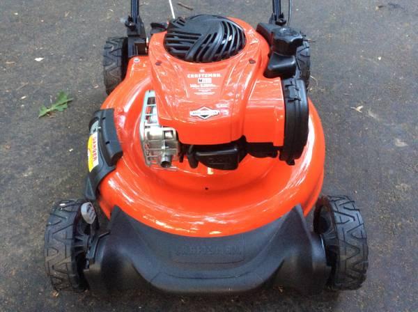 Photo Craftsman 21 Mower- Rear Bag, Mulch, or Side Discharge - BRAND NEW NEVER USED - $170 (Tabernacle)