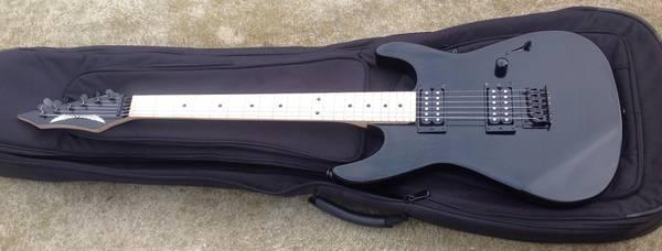 Photo Dean guitar black c zone custom - $160 (Hammonton)