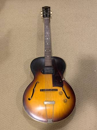 Photo Gibson ES-125T Sunburst Guitar - $2,500 (WoodburyDeptford NJ)