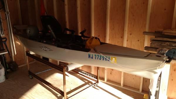 Photo Hobie PA 14 Kayak OutBoards Motor Yamaha 2.5 HP - $3,200 (Atco)