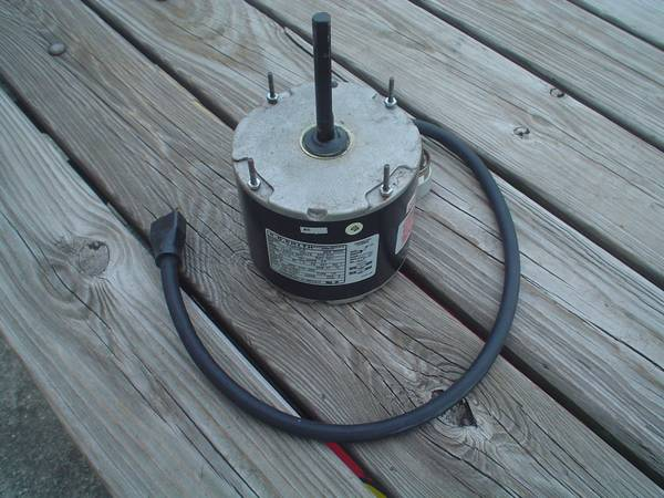 Photo Industrial 220V Air Conditioning AC HVAC Fan Blower Motor - $75 (Sewell)