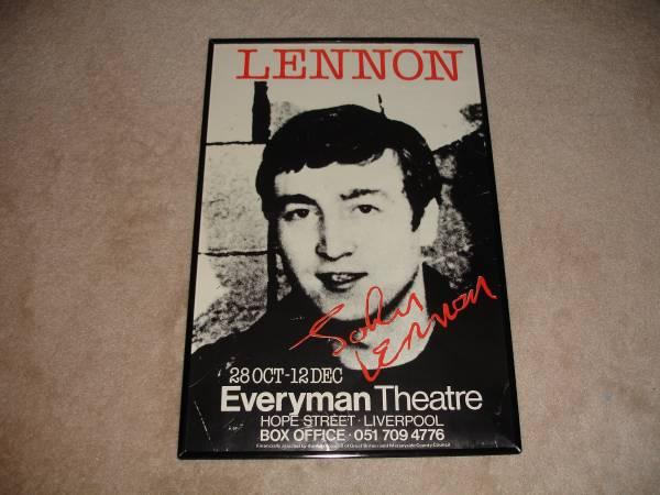 Photo John Lennon Promo Poster - $25 (Atco)
