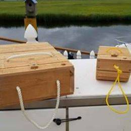 Photo Minnow bait box - $25 (LITTLE EGG HARBOR)