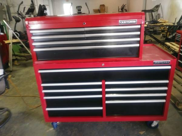 Photo New Craftsman Top and Bottom Tool Box - $500 (Pennsville)