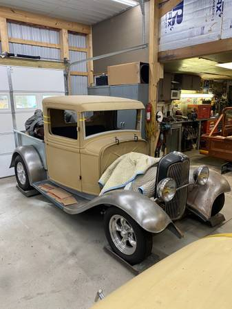 Photo Real Steel 1932 Ford Truck - $15,000 (Berlin)