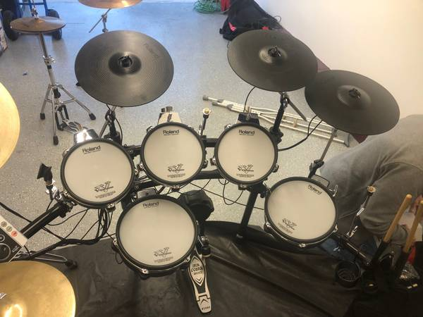 Photo Roland TD-25 Kit with TD-9 Module - Will Sell Pieces - $1,750 (Vineland)
