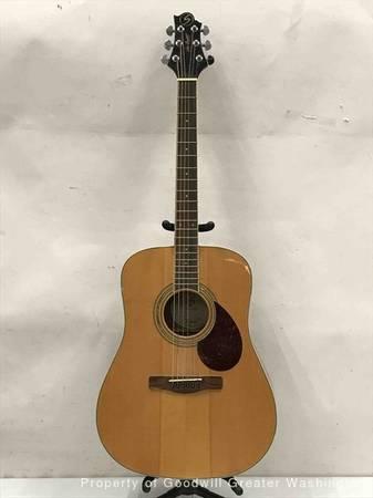 Photo Samick Greg Bennett D-5 Acoustic Guitar - $250 (Clayton)