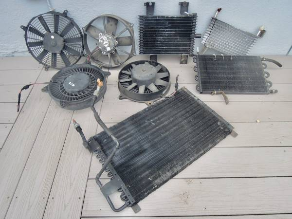 Photo TRANSMISSION OIL COOLERS  ELECTRIC COOLING FANS VARIOUS SIZES - $15 (Egg Harbor Twp. NJ)