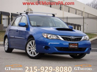 Photo Used 2008 Subaru Impreza WRX Hatchback for sale