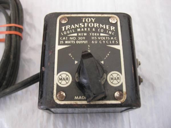 Photo Vintage Toy (Train) Transformer Louis Marx  Co. No. 309 - $20 (Washington Township)