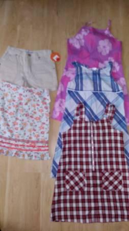Photo lot of 5 girl 8 dress old navy, mary-kate and ashley , circo new - $10 (MARLTON)