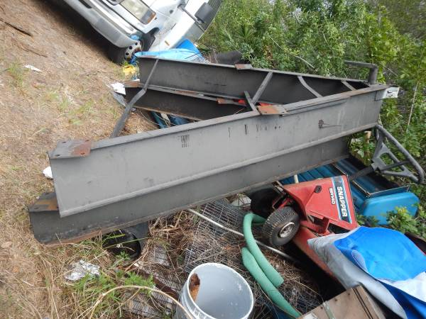 Photo 12 inch I-Beam Mobil Home Trailer Tongue 8 feet Wide , LARGE - $475 (Malabar road)