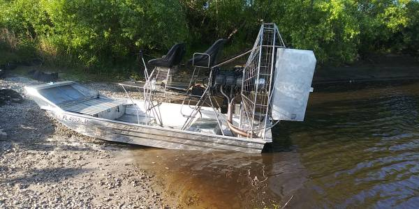 Photo 13x7.6 Hamant lycoming 540 airboat - $18000 (Merritt Island)
