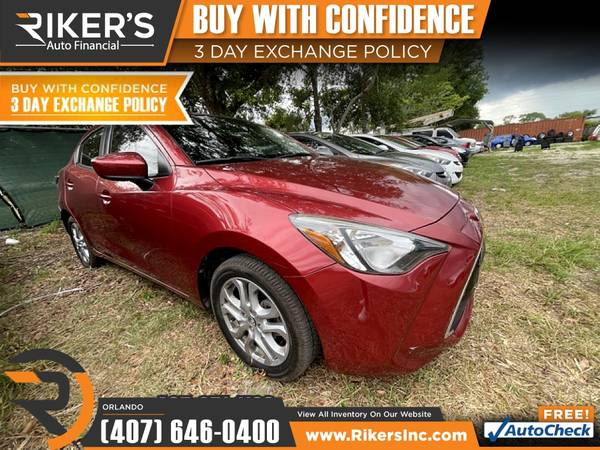 Photo $153mo - 2018 Toyota Yaris iA Base - 100 Approved - $153 (7202 E Colonial Dr, Orlando FL, 32807)