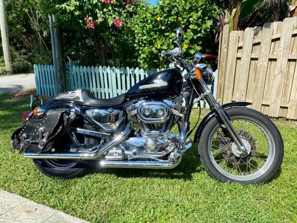 Photo 1997 Harley-Davidson XL 883 Sportster Vintage Look - $3,500 (Melbourne Beach)