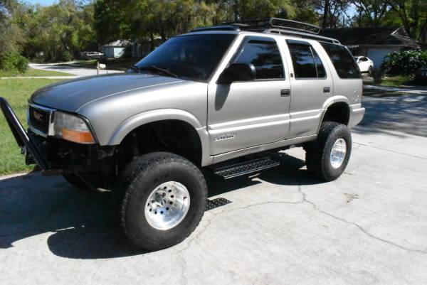 1999 Gmc Jimmy 4x4 Lifted 6000 Palm Bay Cars Trucks For