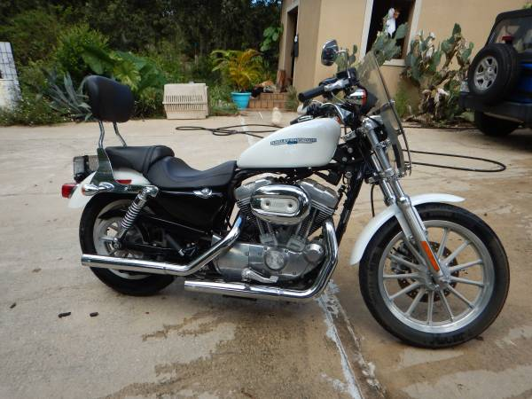 Photo 2006 Harley Davidson Sportster 883 upgraded to 1200 - $6,000 (TITUSVILLE)