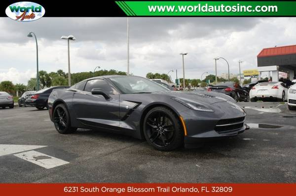Photo 2014 Chevrolet Corvette Stingray Z51 3LT Coupe $729DOWN $175WEEKLY - $46999 (407-770-7123)