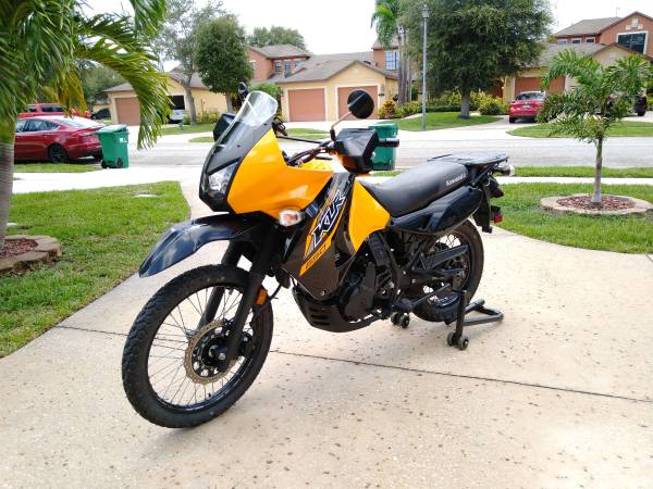 Photo 2018 Kawasaki KLR in great condition for sale - $5,000 (Palm Bay)