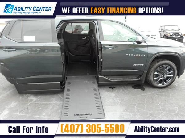 Photo 2021 Chevrolet Traverse Wheelchair Van Handicap Van - $78,695 (4401 Edgewater Drive, Orlando, FL 32804)