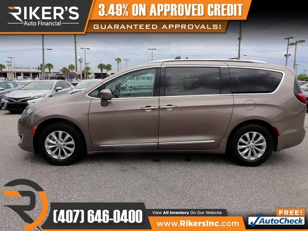 Photo $225mo - 2018 Chrysler Pacifica Touring L Passenger Van - 100 Approve - $225 (Rikers Auto Financial)
