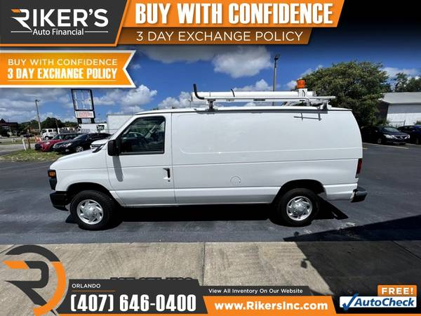 Photo $232mo - 2013 Ford Econoline Cargo Van Commercial - 100 Approved - $232 (7202 E Colonial Dr, Orlando FL, 32807)