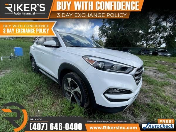 Photo $252mo - 2017 Hyundai Tucson Sport - 100 Approved - $252 (7202 E Colonial Dr, Orlando FL, 32807)