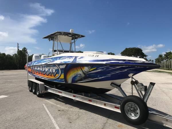Photo 31 Fountain twin Verado 300hp and trailer - $65,000 (Cutler bay)