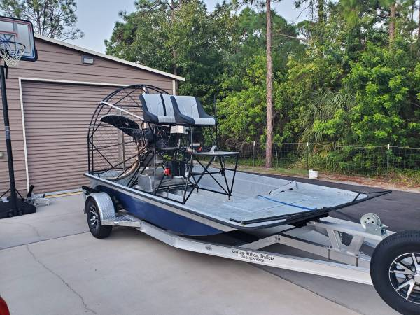 Photo Airboat Marty Bray 14 foot 540 - $21000 (Melbourne)