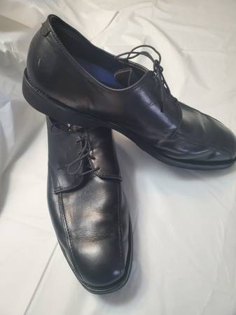 Photo Allen Edmonds Shoes Mens 13 Road Warrior Black Lace Up Oxfords Hammer - $80 (Titusville)