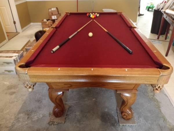 Photo American Heritage 839 Pool Table-FREE DELIVERY, SET-UP  NEW FELT - $1,595 (Mims)