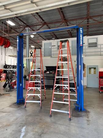 Automotive Shop Equipment Rotary Lift USED Hunter Aligner ...
