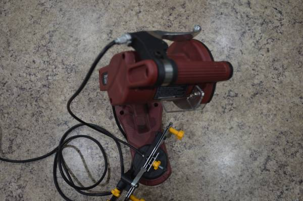 Photo CHICAGO ELECTRIC POWER TOOLS ELECTRIC CHAIN SAW SHARPENER - $28 (La Costa Pawn and Jewelry)