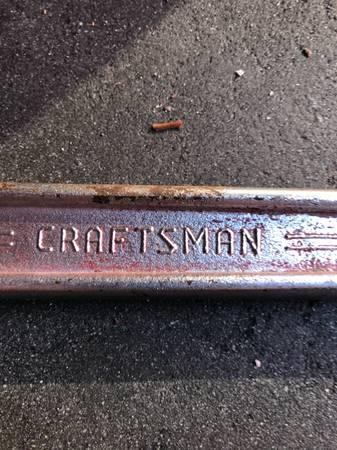 Photo Craftsman 16 adjustable wrench model 44606 - $22 (Titusville)