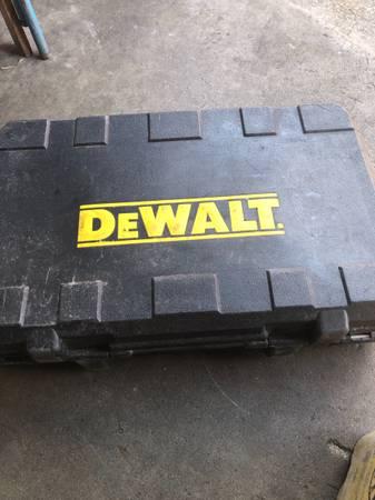 Photo Dewalt 18 volt saws all model DW938 - $45 (Titusville)