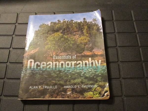 Photo FS Essentials of Oceanography Twelfth Edition - $60 (titusville)