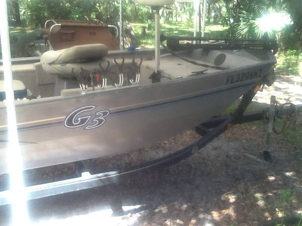 Photo G3 boat for sale - $5,500 (Titusville)