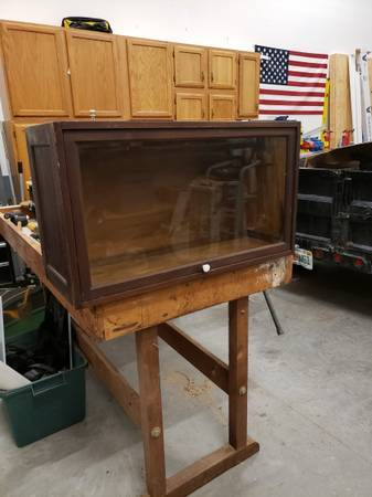 Photo Glass front display cabinet - $50