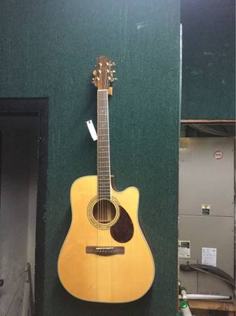 Photo Greg Bennett Samick Acoustic Electric Guitar - $425 (Cape Canaveral)