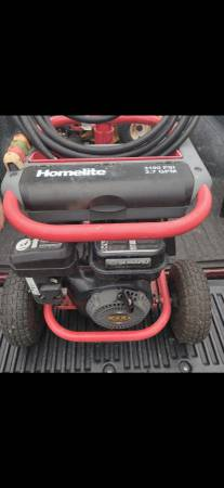Photo HOMELITE PRESSURE WASHER - $375 (Melbourne)
