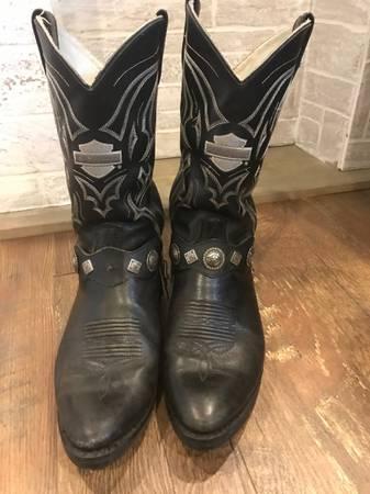 Photo Harley Davidson Mens Boots Size 11 Black - $40 (Melbourne)