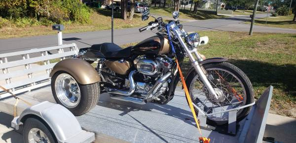Photo Harley Sportster 1200 trike- low miles - $8,900 (Cocoa)